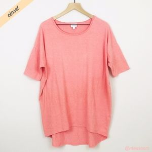 [LuLaRoe] Solid Pink Irma High Low Tunic Top